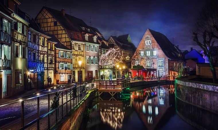 Fairytale destinations Colmar France