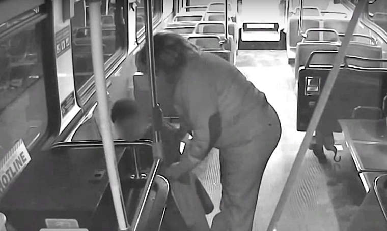 bus driver looks after lost boy
