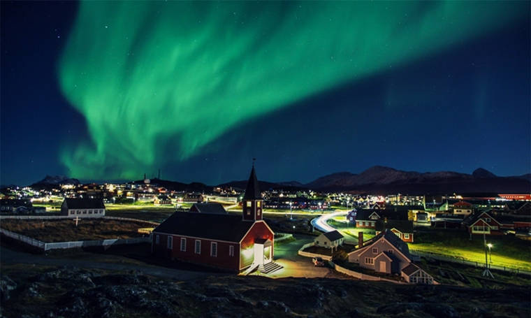 fairytale destinations greenland northern lights