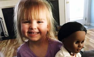 toddler black doll